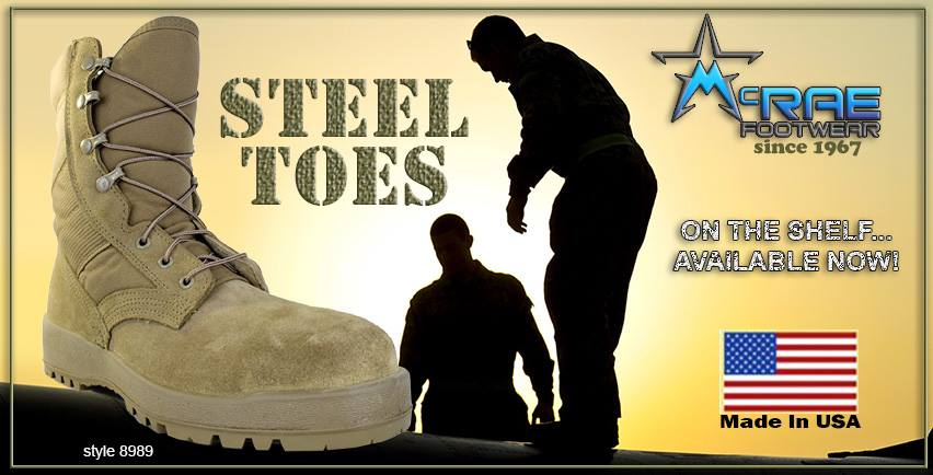 Military Boots Steel Toe