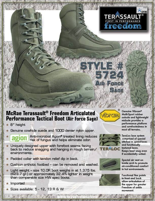 McRae Military Sage Boots