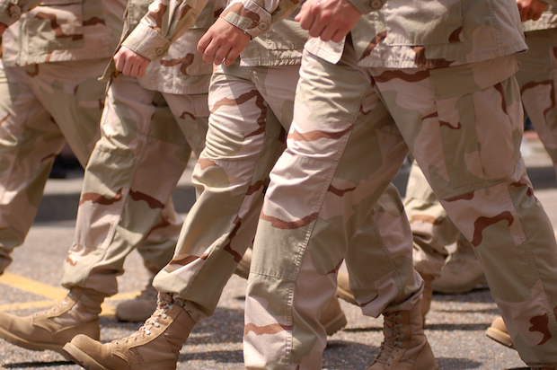 Desert combat:  The Persian Gulf War called for new tactics-and new boots.