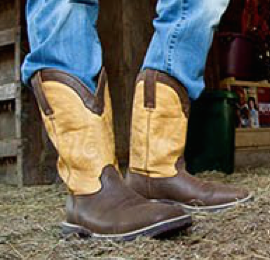 These boots are made for walking: McRae's western boot division offers a variety of fashionable footwear products.