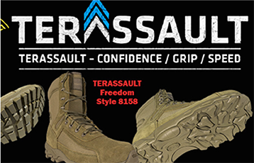 terassault freedom articulated tactical boot coyote